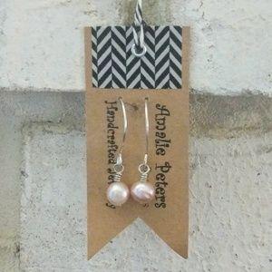 Amalie Peters Designs Genuine Pearl Drop Earrings